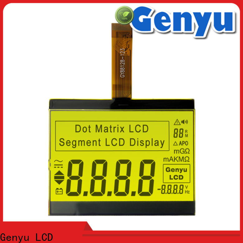 Genyu Latest custom size lcd suppliers for meter