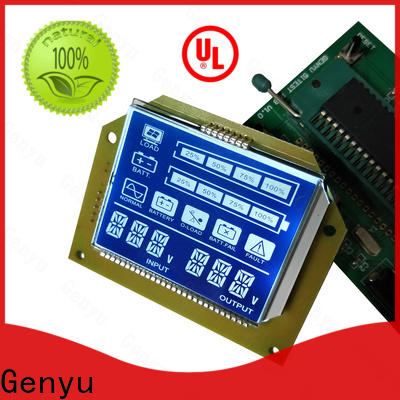 High-quality segment lcd display gy06254nm suppliers for meter