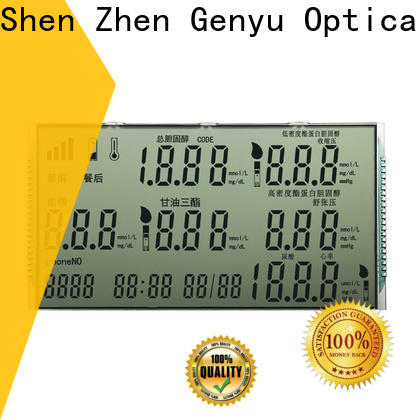 Genyu New segment lcd display for video