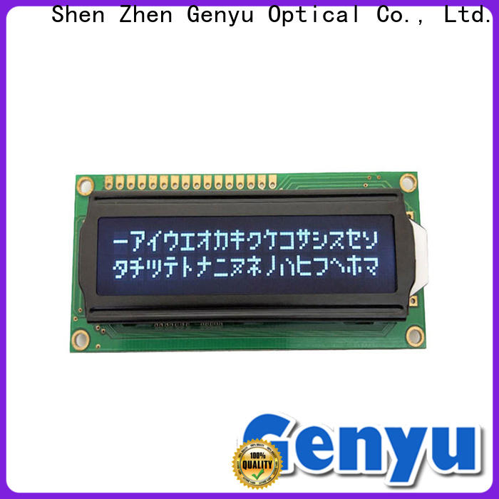 Genyu gy1601 character lcd supply for equipment