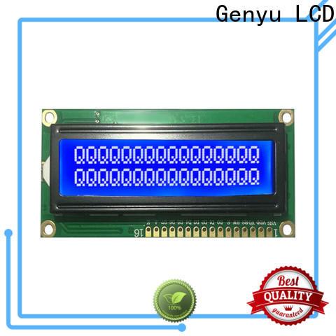 Genyu modules character lcd supply for equipment