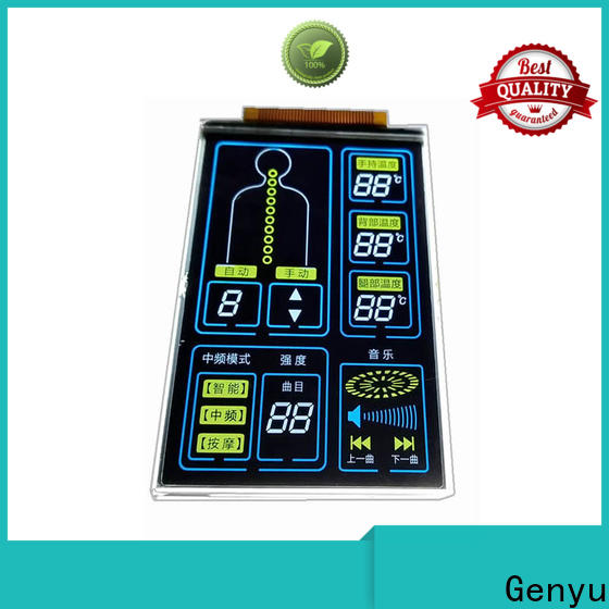Genyu Best segment lcd module supply for machines