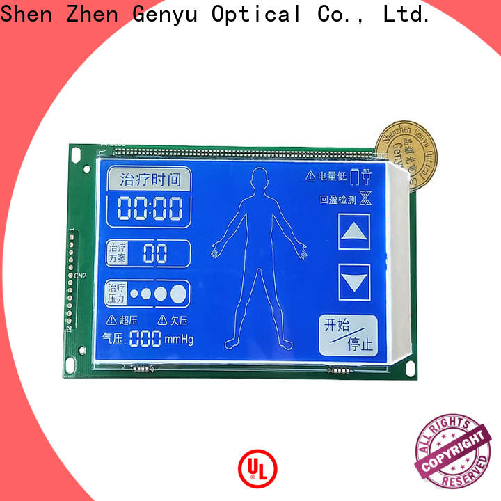 Genyu Latest 7-segment lcd module manufacturers for meters