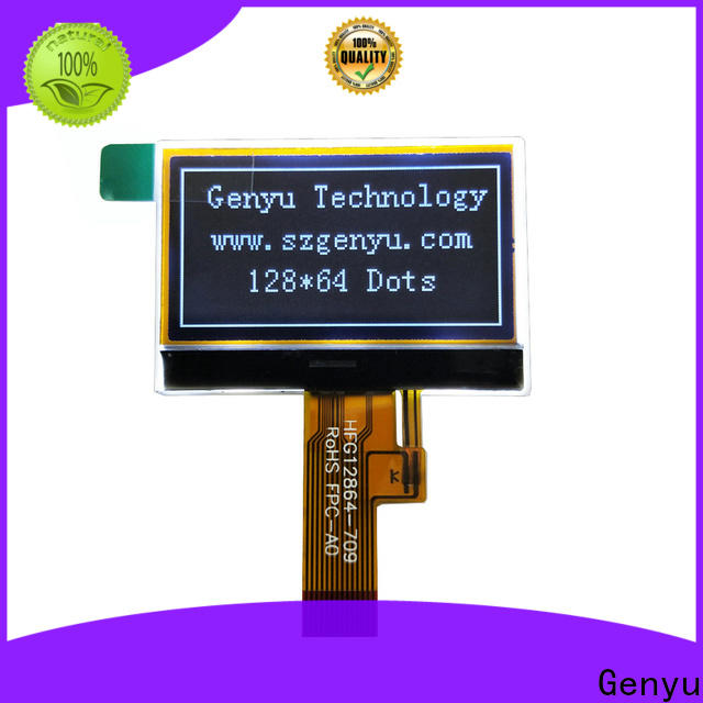 Custom lcd cog display monochrome supply for instruments
