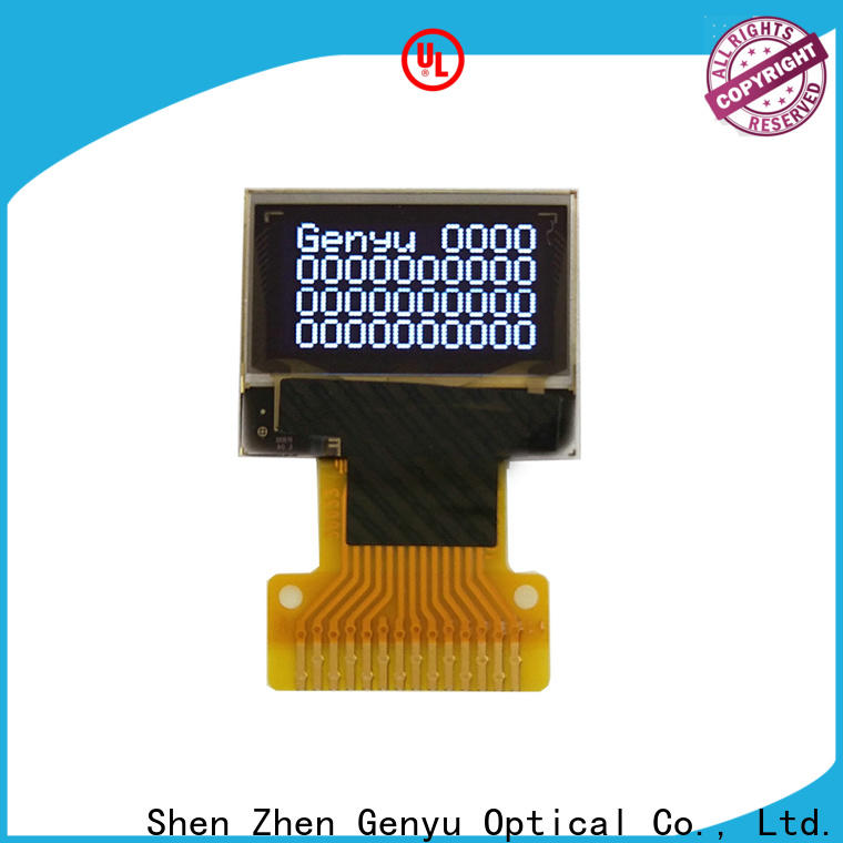 Genyu gy1286404 oled screen suppliers for instruments