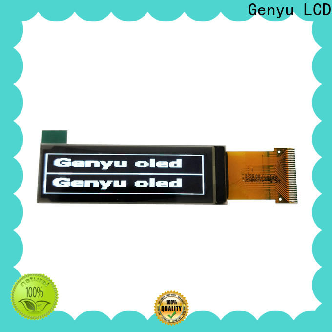 Genyu color oled screen module company for hardware wallet