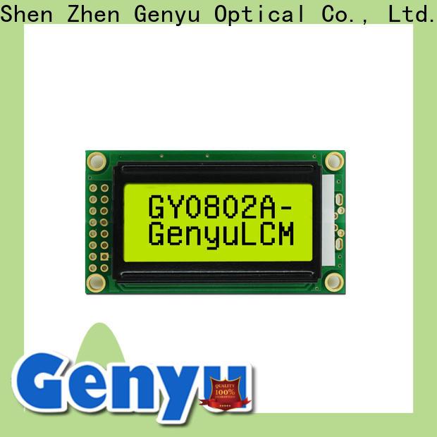 Genyu New character display modules factory
