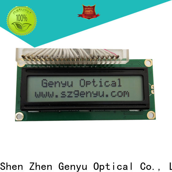 Genyu Latest character lcd display module company for aerial molds