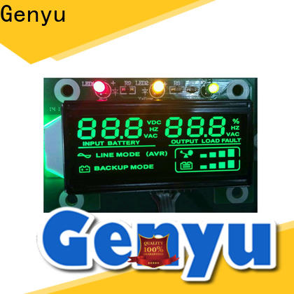 Genyu segment lcd custom for business for laser