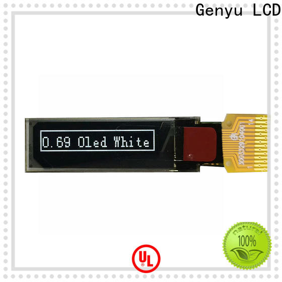 Genyu watch oled screen for business for DJ mixer