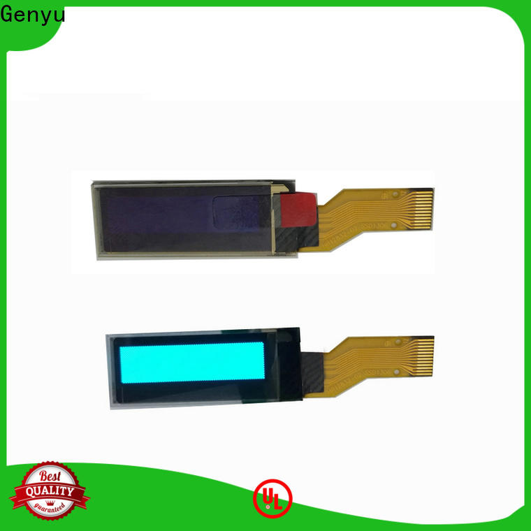 Latest lcd oled display thin for medical equipment