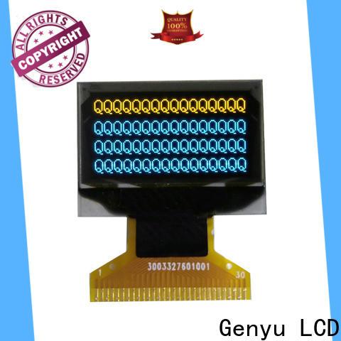 Genyu 128x32 oled lcd module factory for DJ mixer