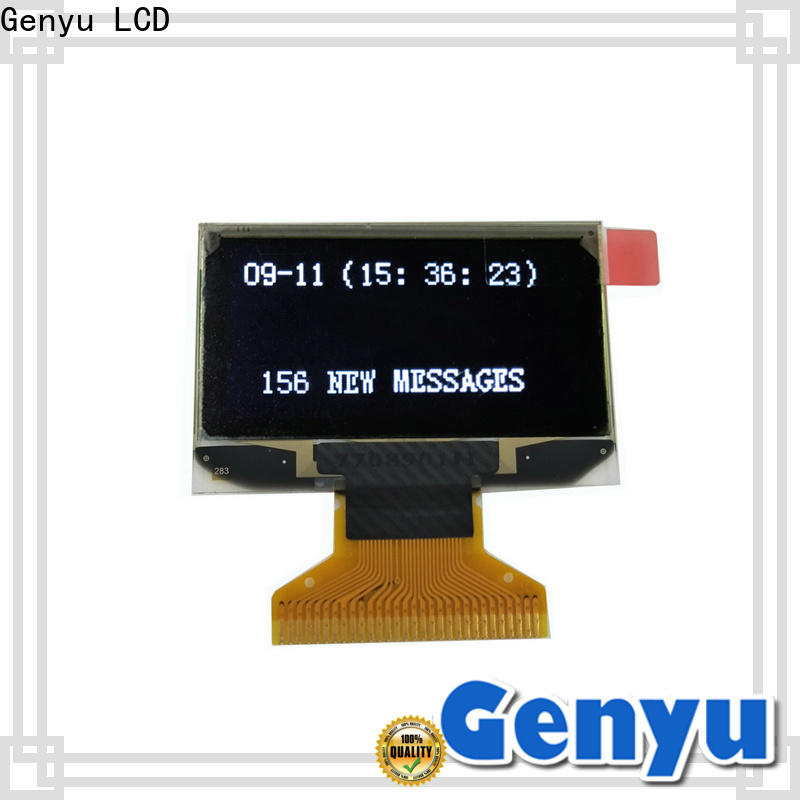 Genyu Top oled lcd module factory for instruments