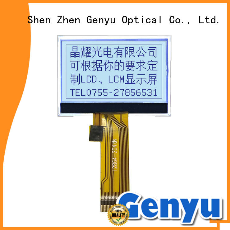 Genyu gy12864455 graphic lcd display for business for smart home