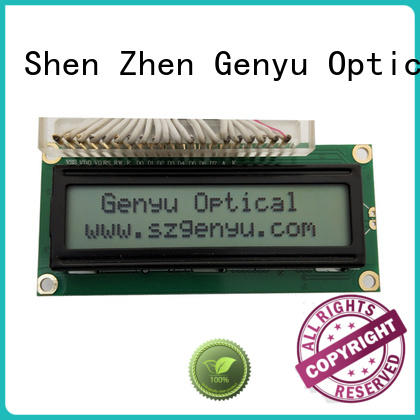 Genyu Top character lcd display company for equipment