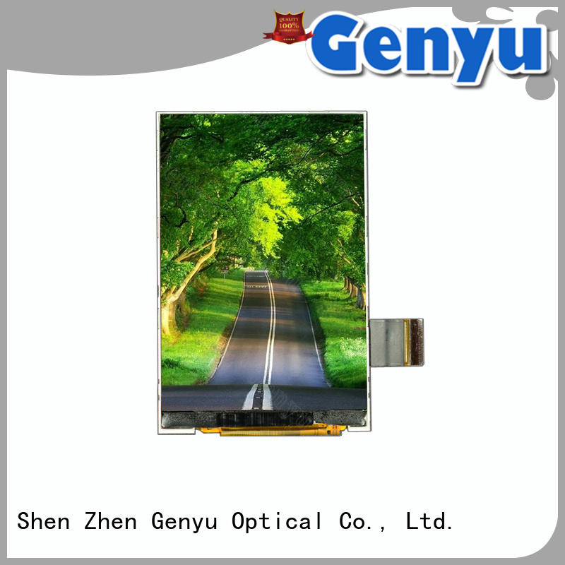 Genyu new tft lcd display module suppliers for automobile