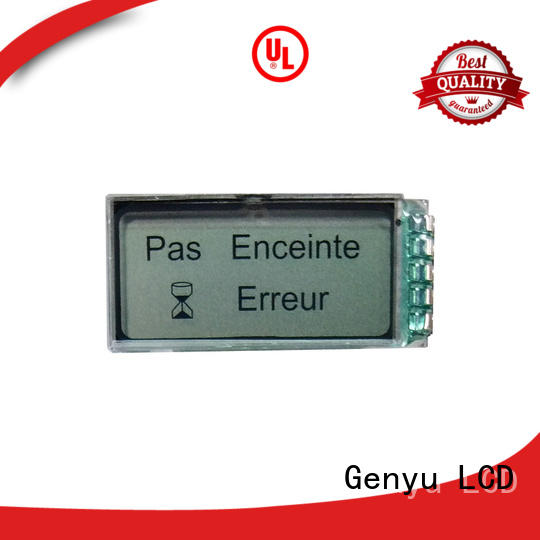 Latest custom lcd screen black factory for instrumentation