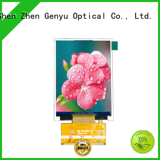 Genyu price-favorable tft lcd displays for equipments
