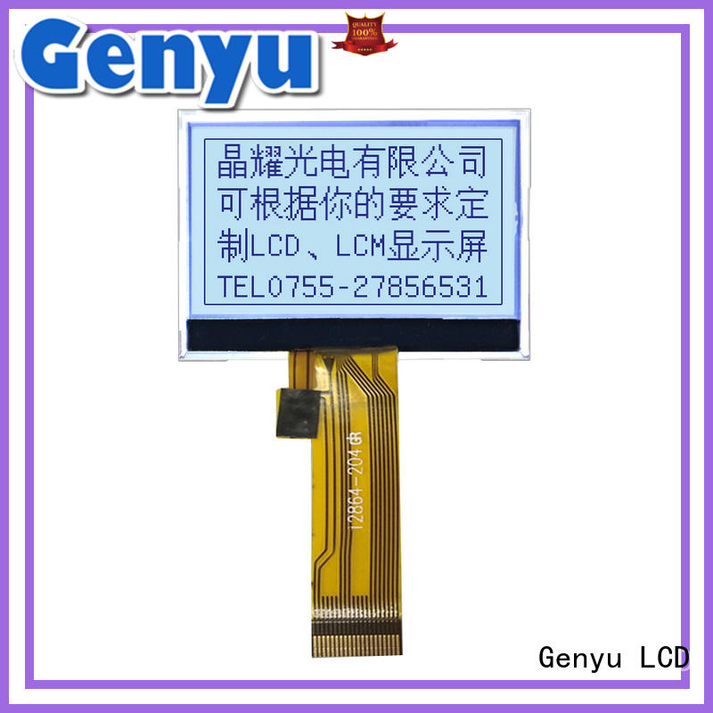 Genyu High-quality graphic lcd display supply for industry