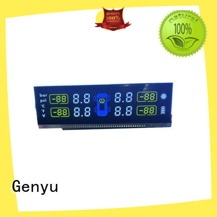Genyu gy1149 custom lcd screen factory for home appliances
