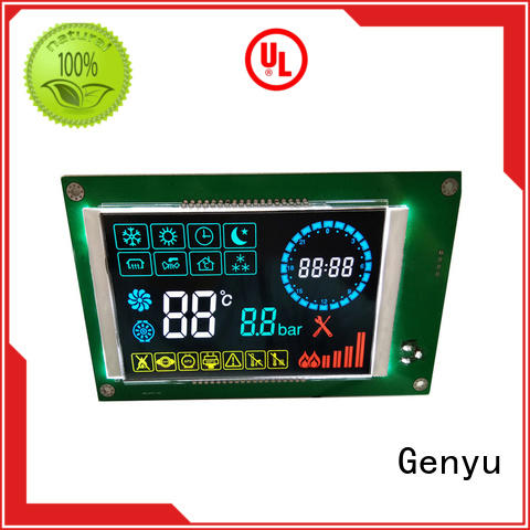 Genyu Custom segment lcd screen company for machines