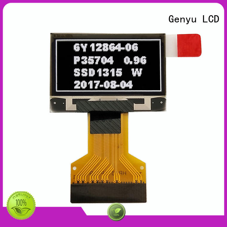 Genyu micro oled screen module for business for sports watch