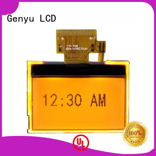 Genyu mono 12864 lcd factory for industry