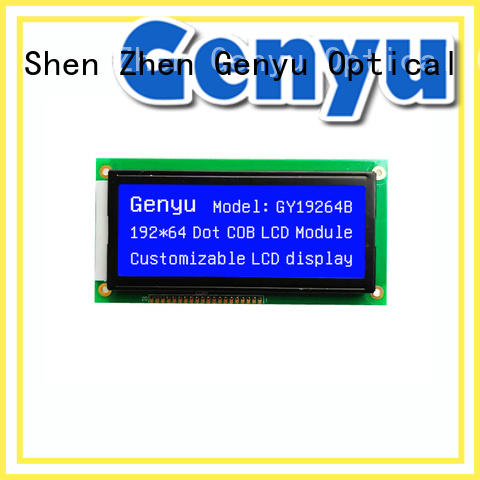 Genyu 12864 graphic lcm bulk purchase for instruments panels
