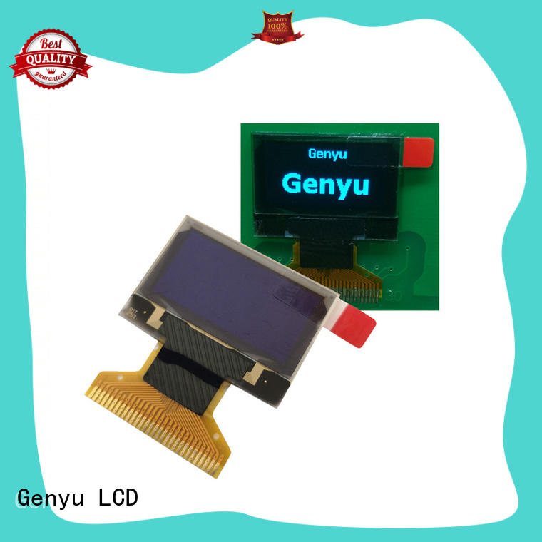 Genyu pin OLED screen factory for medical equipment