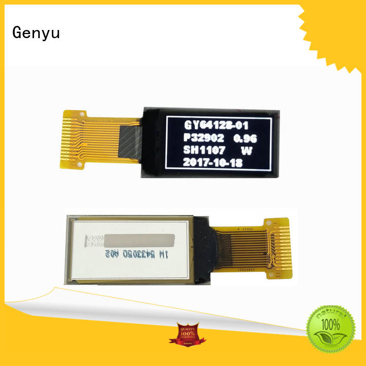 Genyu size oled lcd module factory for smart home