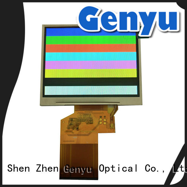 Genyu fast dispatch IPS TFT LCD leading manufacturer for equipments