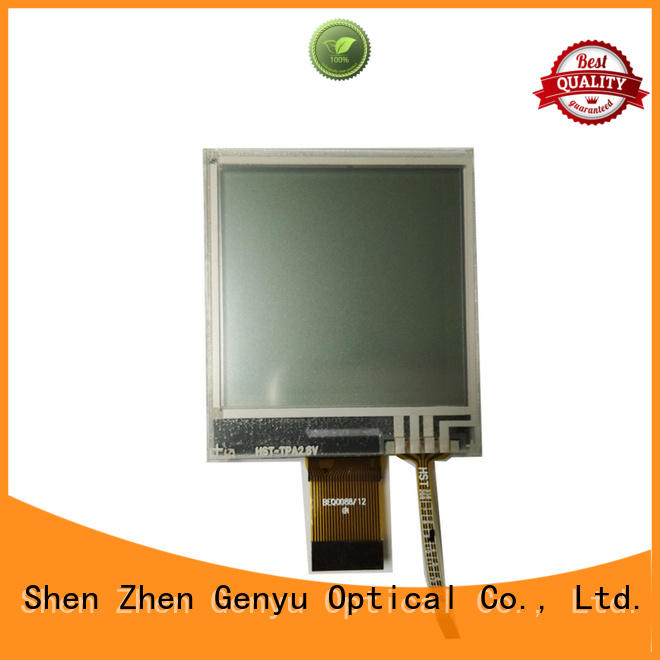 Genyu Custom graphic lcd display suppliers for smart home