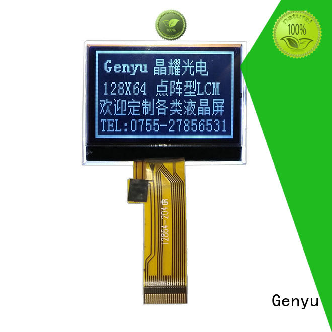 Genyu dot 12864 lcd display module manufacturers for industry