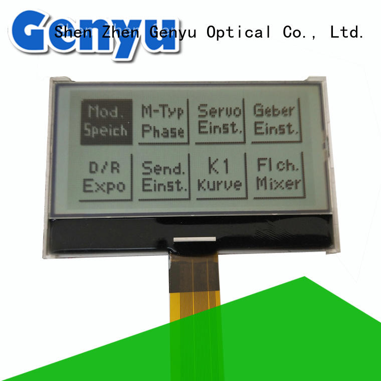 Genyu large production of micro lcd factory for equipment