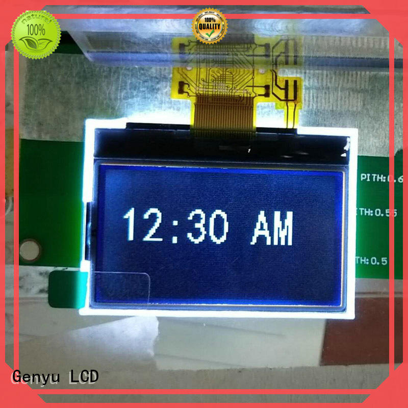Genyu 128x128 graphic lcd screen company for smart home