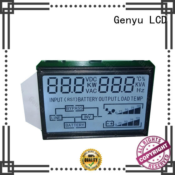 Genyu gy5773v custom lcd panel company for meter