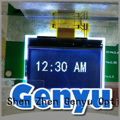 Genyu large production of 128x64 dot matrix lcd 13232 for industry