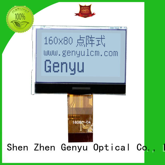 Genyu customized 12864 lcd display company for industry