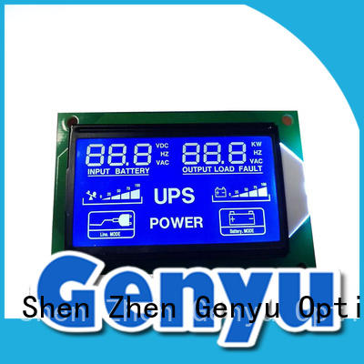 Genyu meter custom size lcd renovation solutions for home appliances