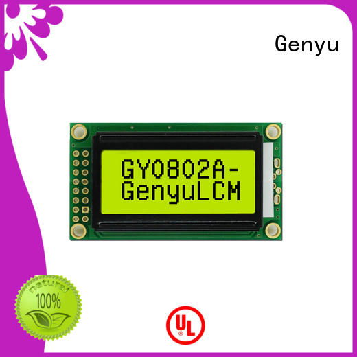 Genyu New character lcd company for home radios