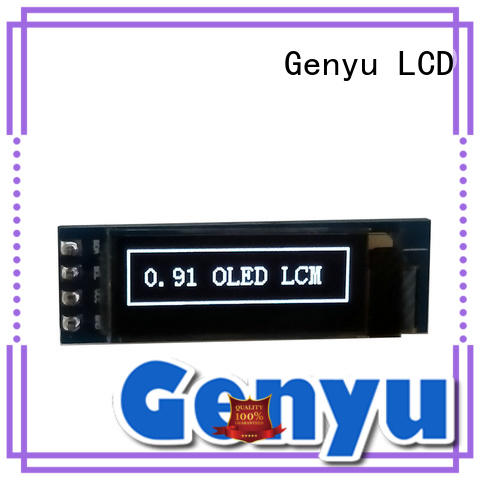 Genyu color oled screen supply for smart watch