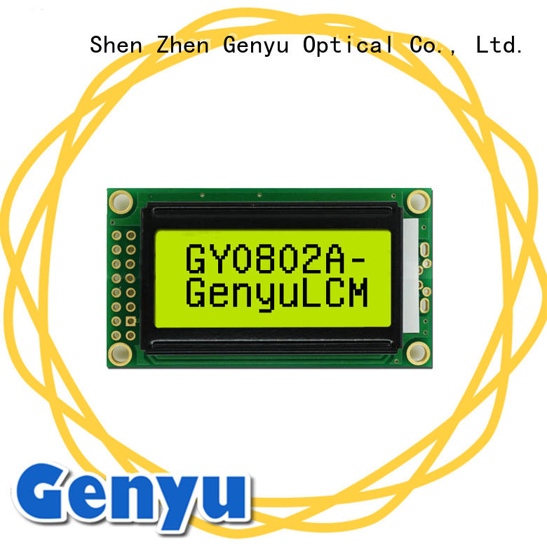 Genyu CE approved lcd 1602 displays for aerial molds