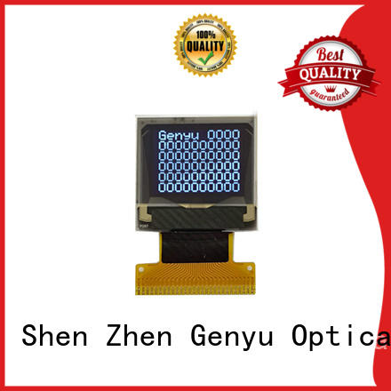 Genyu small oled lcd panel factory for medical equipment