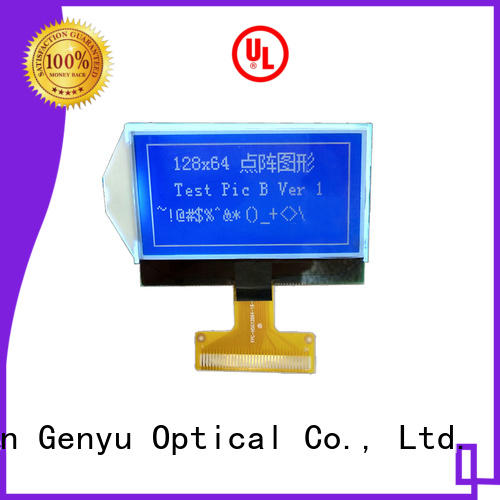 Genyu Latest 12864 lcd company for industry