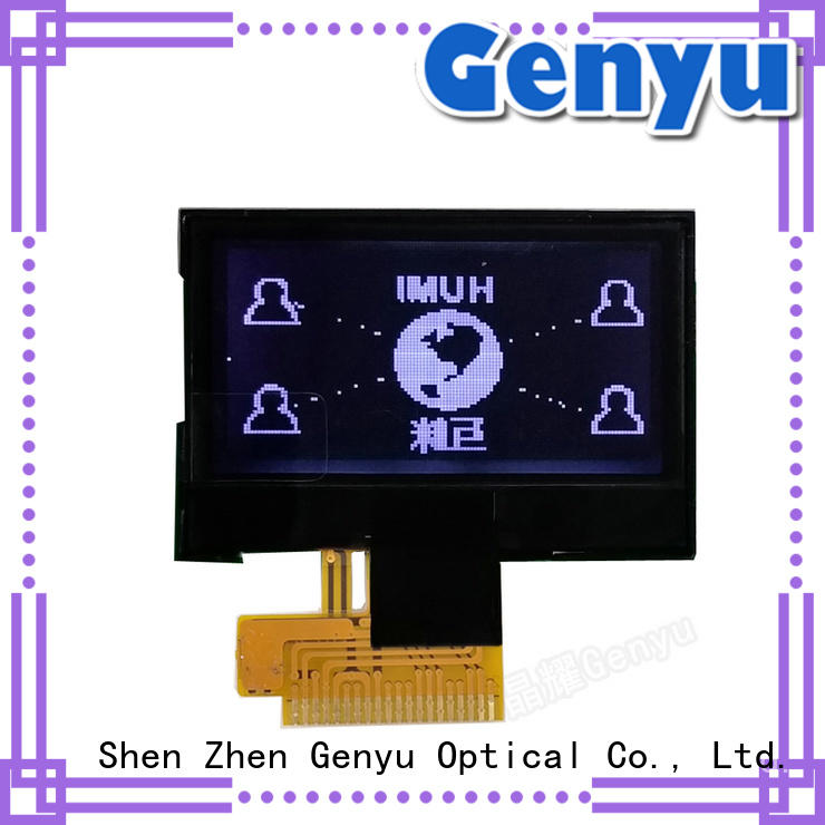 Genyu backlight mono lcd display exporter for industry
