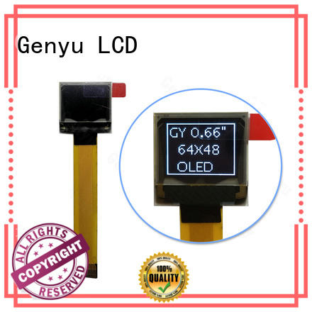 Genyu High-quality lcd oled display supply for smart watch