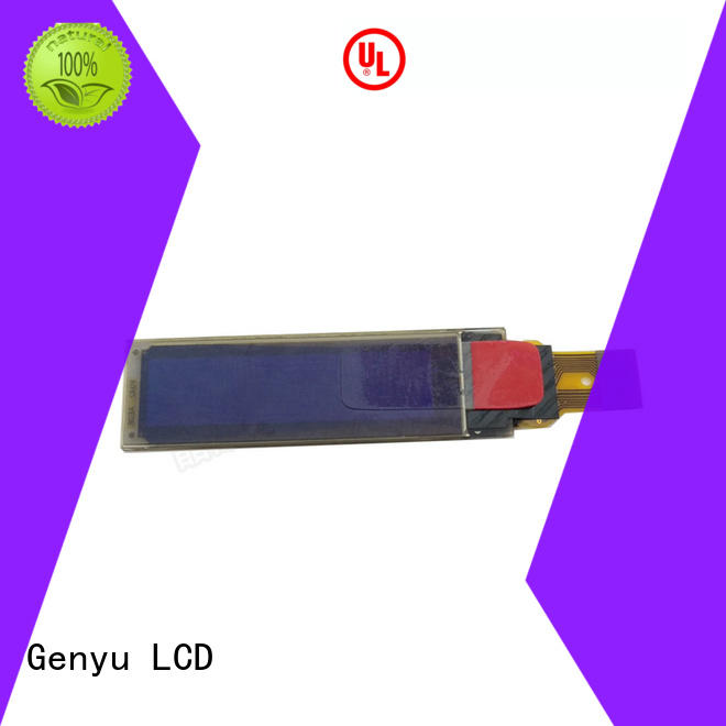 Genyu micro oled display module for hardware wallet