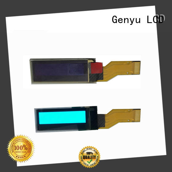 Genyu 72x40 oled transparent display for medical equipment