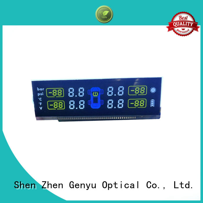 Genyu gy8812854 custom size lcd suppliers for instrumentation