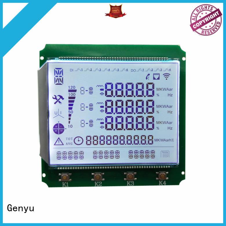 Genyu Custom segment lcd display for business for laser
